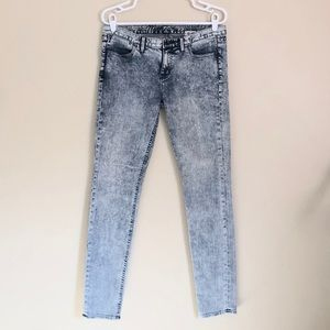 Madewell '37s Acid Washed Skinny Jeans Size 29
